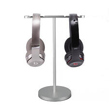 Dual Headphone Desk Hanger Stand Headset Stand Earphone Display Holder Mount