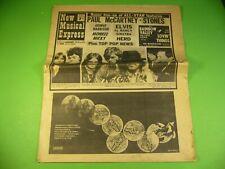 Alte Musik Zeitung England 1968, Beatles, Micky Dolenz, Lulu, The Herd