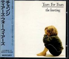 TEARS FOR FEARS The Hurting JAPAN West GERMANY 1st CD 1985 W/BIG Obi 32PD-51