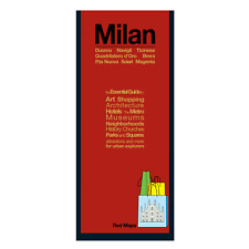 Red Maps Milan CURRENT EDITION - City Travel Guide