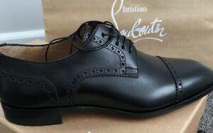 christian louboutin men's shoes Black Formal Size 44 Eu No Box Brand New