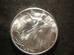 1945-S BU GEM Superb BU Walking Liberty Half Dollar Nice GSX