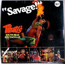 Tihati's South Seas Spectacular 1970s Don Over Recs #1001 HAWAIIAN Sealed LP