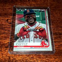 DAVID ORTIZ SP 2019 TOPPS #694 PHOTO VARIATION! BOSTON RED SOX HOF!