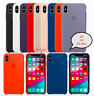 iPhone XS / XS Max / XR Apple Genuine Original Silicone Cover Case - 18 Colors