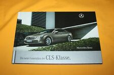 Mercedes CLS 2008 Hardcov. Prospekt Brochure Catalogue Prospetto Depliant Folder