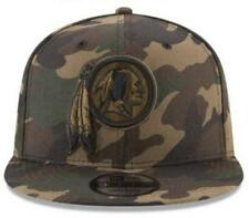 Official NFL Washington Redskins Camo on Canvas New Era 9FIFTY Snapback Hat