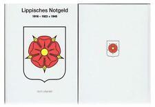 NEU - Lippisches Notgeld 1916-1923 + 1945  Katalog fest  gebunden 195 Seiten