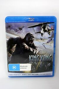 King Kong (2005) Blu-ray Region B w/ Theatrical and Extended Cuts