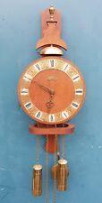 "Dutch  Wuba Warmink clock with oakwood case ""good working"" nice Condition."