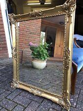 More details for vintage gilded mirror - regency style