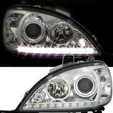 Scheinwerfer Set für Mercedes ML W163 M-Klasse 98-01 mit LED Tagfahrlicht Optik