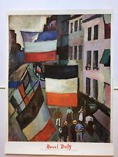 AFFICHE: RAOUL DUFY LA RUE PAVOISEE 1906. Centre Georges Pompidou.