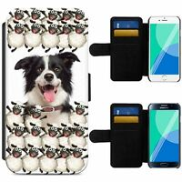 Cute Farm Animals Dog Lamb Chick Cow Flip Phone Case Wallet Cover iPhone Samsung