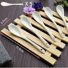 White Coffee Spoon Kitchen Ladle Kitchenware Tableware Utensils Cooking Scoop