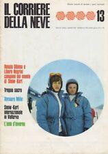 Il Corriere della Neve 13: rivista mensile di turismo e sport invernali. Anno II