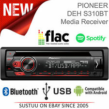 Pioneer Car Stereo│1-DIN CD Tuner│Media Player│Bluetooth│USB/Aux-In│Android│MP3