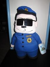 SOUTH PARK'S OFFICER BARBRADY PLUSH TOY DOLL FIGURE BY FUN 4 ALL MWT