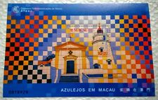 Macau 1998 Tiles in Macau Souvenir Sheet Stamps Mint NH