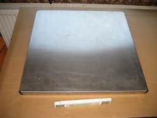 Edelstahl Abdeckplatte 60 x 60 cm Kopfplatte Platte Gewerbe Abwaschmaschine 7A
