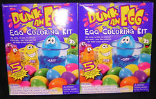 TWO (2): DUNK AN EGGS; EASTER DYE COLOR DECORATING KITS