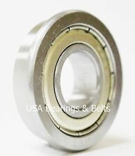 "(Qty 4)FR8-ZZ Premium ABEC 3 Flanged Bearings,1/2"" X 1-1/8"", FR8 ZZ Kyodo Grease"