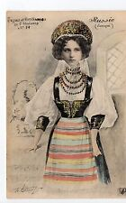 RUSSIE Russia Théme Types russes costumes personnages jeune fille