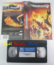 film VHS fantastico I FANTASTICI 4 Jessica Alba 20Th Fox 2005   (F14)  no dvd