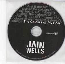 (DV611) The Colours of My Heart, Jain Wells - 2012 DJ CD