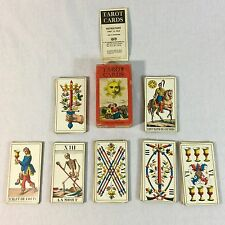 Kaplan Tarot Cards 1970 IJJ Deck Complete with Instructions and Box Switzerland