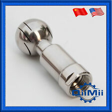 0.5 Inch Stainless Rotary Spray Ball Female CIP Tank Cleaning Head New