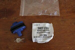 Shot Lock 5000-PB Keyed Gun Lock New