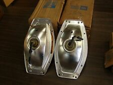 NOS OEM Ford 1965 Galaxie Station Wagon Tail Light Housings Lamp Buckets