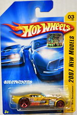 HOT WHEELS 2007 NEW MODELS NITRO DOORSLAMMER #03/36 GOLD FACTORY SEALED