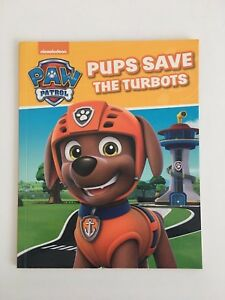 Nickelodeon Paw Patrol Pups Save The Turbots New Book Kids Bedtime Storybook