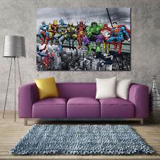 Hot Super Hero Oil Painting Home Decor Canvas Print Art Mural Frameless Picture