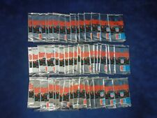 1991 UD DOMINO'S PIZZA QUARTERBACK CHALLENGE FOOTBALL PACK LOT OF 50 *INV6380
