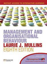 Management & Organisational Behaviour by Laurie J. Mullins (Paperback, 2007)