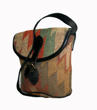 Turkish Textile draw bag Kilim design - high quality hand crafted Cross Body Bag