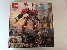 Lego Ninjago Movie 70615 L'armure de Feu