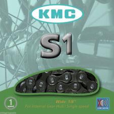 "KMC S1 Singlespeed/Hub Gear Bicycle Chain inc. Link - 1/2"" x 1/8"" - 112 Links"