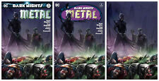 Dark Nights Metal #4 Francesco Mattina Variant lot of 3 Virgin, Homage, Trade NM