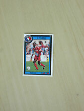Carte official football cards panini 1993   THURAM   AS MONACO  rookie