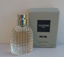 1x valentino Uomo ACQUA Eau De Toilette Mini Perfume for Men 4ml