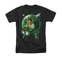 GREEN LANTERN GALAXY GLOW Licensed Adult Men's Graphic Tee Shirt SM-6XL