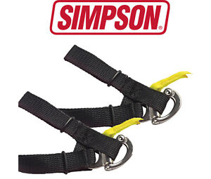 Simpson Hybrid D Anello Quick Release Tether SFI 38.1 Approved - Adult Size