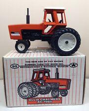 1/16 AC Allis Chalmers  Model 7080 Tractor w/ Triples Summer Farm Toy Show ERTL