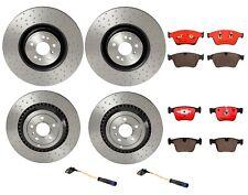 Brembo Front Rear Brake Kit Disc Rotors Ceramic Pads Sensors For MB W164 W251 V8