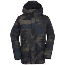 VOLCOM Men's CLINTONS Snow Jacket - Medium - CAM - NWT