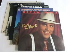 Lot Of 5 Country Pop LP Wholesale Jimmy Dean David Holt Vinyl Record